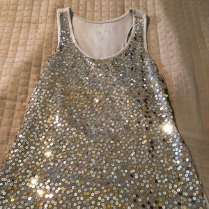 INC International Concepts Sequin Top